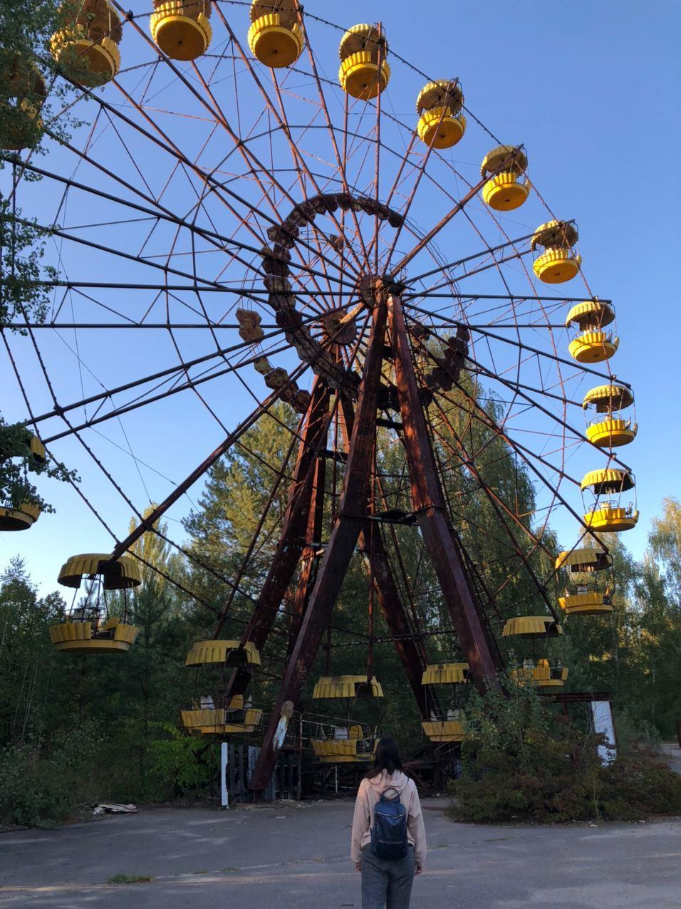 Чертовое колесо в городе Припять