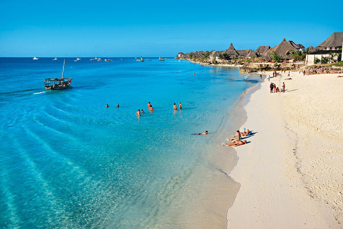 Лучшие пляжи Занзибара - Нунгви