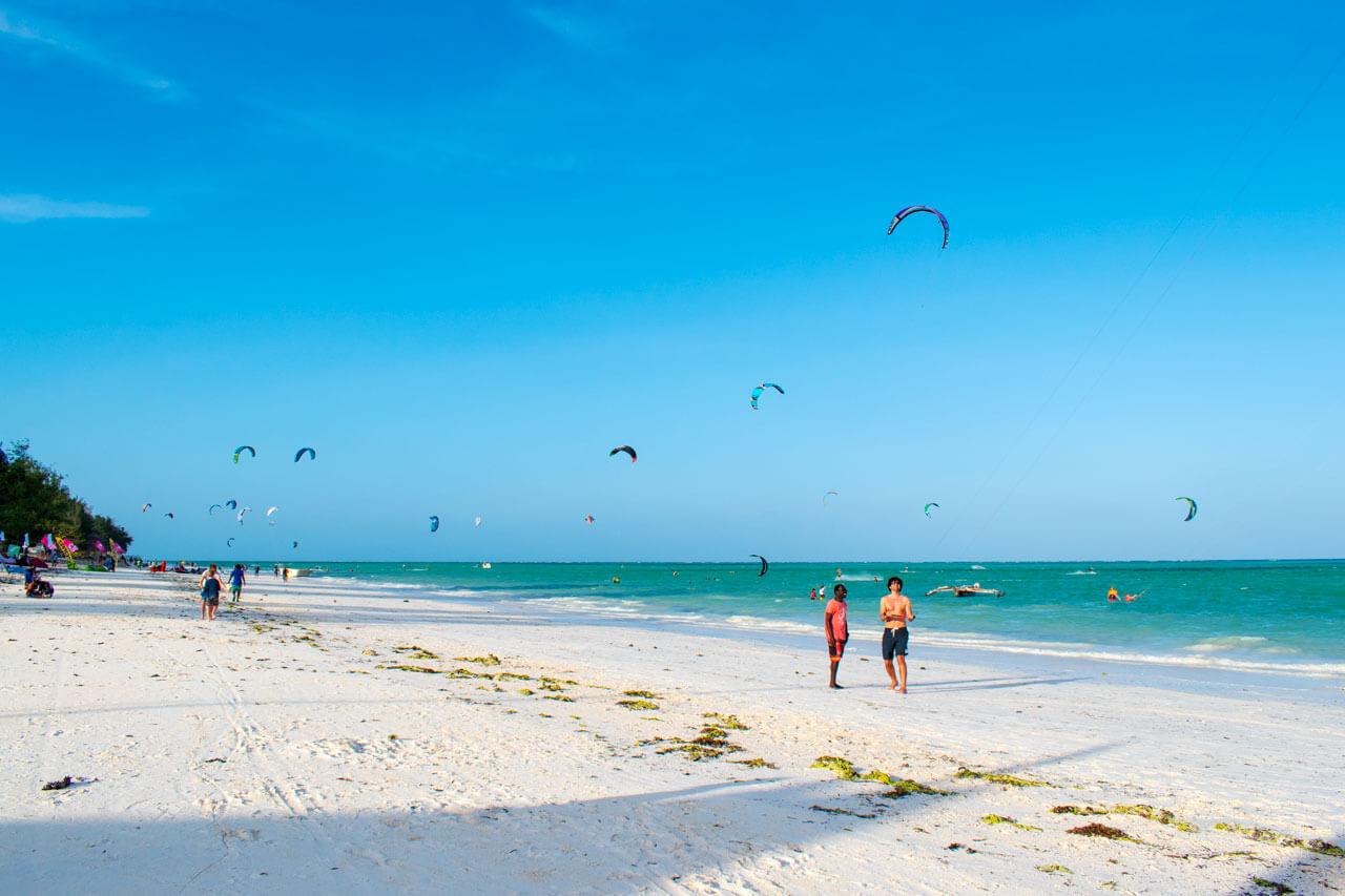 Пляжи Занзибара - Паже